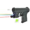 Pistolet Na Kulki z Laserem i Niebieską Latarką TOMDORIX