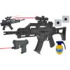Karabin Na Kulki z Laserem i Składaną Kolbą HK G36c + Pistolet z Laserem + Granat TOMDORIX