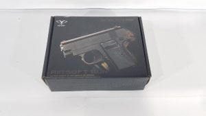 Pistolet Metalowy Na Kulki 6mm BODY 100% METAL V3 TOMDORIX