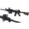 Karabin M4A1 Snajperka Na Kulki z Niebieską Latarką TOMDORIX