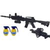 Karabin M4A1 Snajperka Na Kulki z Niebieską Latarką + 2x Granaty TOMDORIX