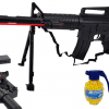 Karabin Snajperka M4A1 Na Kulki z Laserem i Paskiem + 2x Granaty TOMDORIX