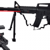 Karabin Snajperka M4A1 Na Kulki z Laserem i Paskiem TOMDORIX
