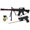 Karabin Snajperka M4A1 Na Kulki z Laserem i Paskiem + Pistolet z Laserem + Granat TOMDORIX