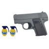Pistolet Metalowy Na Kulki 6mm BODY 100% METAL V3 + 2x Granaty TOMDORIX