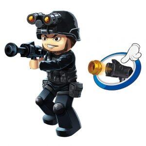 Klocki Policja Mobilne Centrum Dowodzenia TOMDORIX