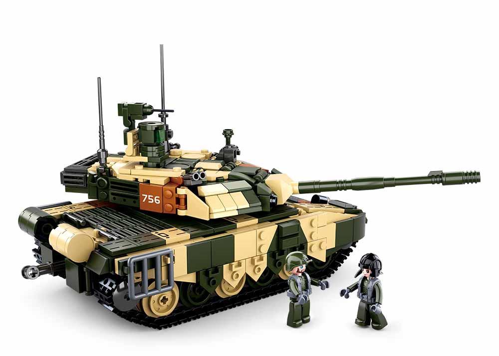 Klocki Wojsko Czołg Rosyjski T-90MS 772el TOMDORIX