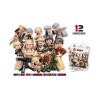 Klocki Wojskowe Figurki Militarne Żołnierze TOMDORIX