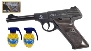 P08 Parabellum Pistolet Metalowy Na Kulki 6mm ASG TOMDORIX