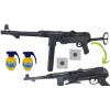MP-40 SCHMEISSER Karabin Na Kulki 6mm + Pistolet z Laserem + Granat TOMDORIX
