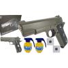 Wojskowy Pistolet Metalowy na Kulki 6mm w Kamuflażu TOMDORIX