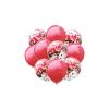 Balony Zestaw 10 szt. CZERWONE Wraz z Konfetti 35 cm. TOMDORIX