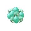 Balony Zestaw 10 szt.RÓŻOWE ZŁOTO Wraz z Konfetti 35 cm. TOMDORIX