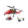 Klocki Miasto Helikopter Straży Pożarnej + Robot do Zdalnego Gaszenia Pożarów TOMDORIX