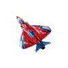 Balon Foliowy,Samolot, Myśliwiec, 103 x 96 cm. Na Hel lub powietrze. tomdorix.pl