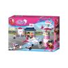 Klocki Girls Dream Lotnisko z Samolotem i Wieżą TOMDORIX