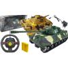 Czołg Na Radio Pilota PzKpfw. VI Ausf. B TYGRYS II Königstiger Zdalnie Sterowany 2x LED TOMDORIX