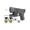 Glock 18 POLICYJNY Pistolet Na Kulki 6mm TOMDORIX