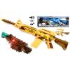 Karabin Na Baterie M4A1 Snajperka, Efekty Świetlne, Dźwiękowe, Wibracje. TOMDORIX