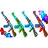 Karabin MINECRAFT AK-47 Na Baterie Światło Dźwięk Z LED'ami TOMDORIX