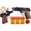 COLT Czarny Hukowy Pistolet Metalowy Na Kapiszony TOMDORIX