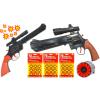 Kowbojski Pistolet Hukowy Na Kapiszony STRASZAK + 3x Kapiszon TOMDORIX
