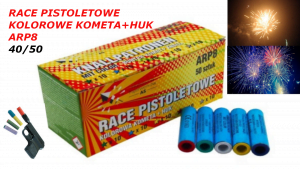 Race Pistoletowe Mix Kolor+ Huk 4050 ARP8 do Pistolet Hukowy START 2, TOMDORIX