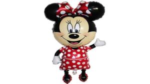 Balon Myszka Minnie, Balon Myszka Miki, Zestaw urodzinowy Myszka Miki, Zestaw urodzinowy Myszka Minnie, Hel do balonów, ZESTAW BALONÓW Myszka Miki, Głowa myszki Minnie, Butla z helem,