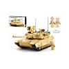 Klocki Abrams M1A2 Amerykański Czołg Wojsko Armia TOMDORIX
