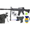 Replika Amerykańskiego Karabinu M4A1 Na Kulki z Laserem TOMDORIX