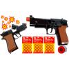 COLT Czarny Hukowy Pistolet Metalowy Na Kapiszony + 3x Kapiszon TOMDORIX