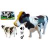 Krowa Na Baterie Chodzi Muczy Świecące Oczy TOMDORIX